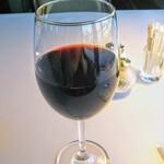 トレインレストラン日本食堂 - リッチな洋食には赤ワイン!重たくなくすっきりしてます!