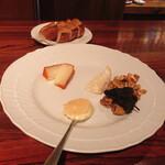 サウダージ - チーズ盛り合わせ