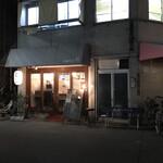 中華そば 閃 - 店の外観 ※帰る頃には、行列が無くなっていたよ