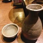 九段下 鳥福 - お銚子、お猪口