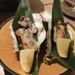 ろばたの魚炉米 - セルガキ藁焼き