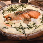 ろばたの魚炉米 - 鮭グラタン