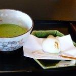 12457059 - 和菓子と抹茶のセット