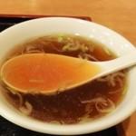 12457492 - スープは鶏ガララーメンスープ風