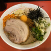 鷹の目 - 料理写真:《限定》台湾まぜそば+魚粉  ¥950