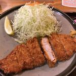 とんかつ 志味津 - とんかつ定食 1265円
