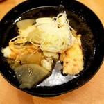 海天丸 - 料理写真:漁師のあら汁 250円