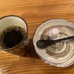 白金台所 茶わんむし 下釜 - 食後のコーヒー