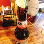 カンティーナ エルボラーチョ - メキシコビール テカテ ¥680