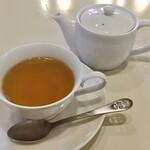カフェ 花見 - ランチに追加飲み物 250円 台湾ジャスミン茶
