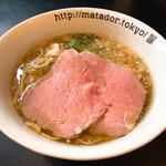 124580502 - 贅沢焼牛らぁ麺1050円