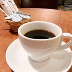 ラ ココリコ - ランチセットのコーヒー