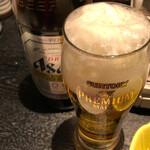 ちゃんこ霧島 - 瓶ビール(中)