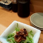 Sushihiro - お通し(浅利の佃煮)