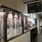 浅草ビール工房 - 醸造スペース。
