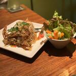 クワンチャイ - 宮古島産青パパイヤサラダ