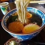 丸花 - 料理写真:たぬき蕎麦リフト図