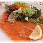 プルミエ - 料理写真:サーモンマリネ