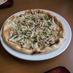 12460817 - 味噌きのこピザ700円♪
