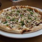 12460818 - 味噌きのこピザアップ!
