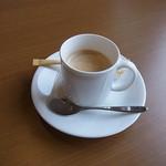 エコレストラン あいのの - 日替わり定食にはコーヒーのサービスも(*^_^*)