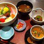 居食屋 たぬき - 海鮮丼セット