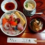 うな藤 - ランチ海鮮丼(税込880円)