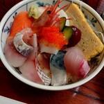 うな藤 - 海鮮丼アップ