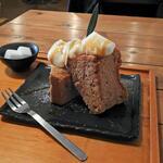 カフェ カホ - シフォンケーキ(ストロングアールグレー)