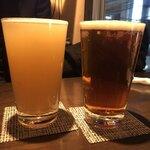 地ビールバー まる麦 - ・ほぼシードル いわて蔵ビール pint 1,100円 ・サクラビール 門司港レトロビール Pint 1,100円