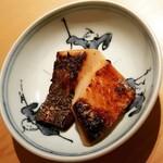 鮨 あい澤 - さわらの味噌焼き