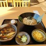 蕎麦sキッチン - 料理写真:炭火鴨SOBA