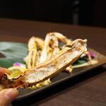 蟹と海鮮 個室居酒屋 東郷 - 焼き蟹