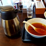 124611700 - 朝つけめん-スープ割