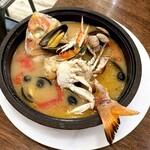 TOKYO Mar Mare - 渡り蟹のアクアパッツァ(1,580円)