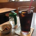 カフェ箱庭 - アイスコーヒー