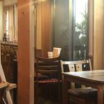 カフェ箱庭 - 店内