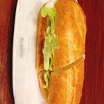 ドトールコーヒーショップ - ミラノサンド、照り焼きチキンタマゴサラダ