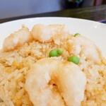 凜香飯店 - エビは揚げたもの。