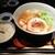 麺処 銀笹 - 料理写真:「銀笹らーめん 白醬油(¥880)」と「半鯛飯(¥220)」