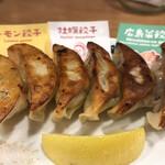 124621258 - 餃子の盛り合わせ580円