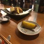 御食事処乃 福松 - さつまいもの天ぷら