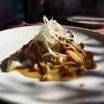 トキオプラージュ・ルナティック  - 本日の魚料理(1500円)バターソースがむっちゃ美味しい❗