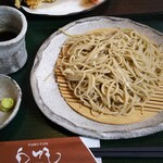 石臼挽きそば処 白帆 - 料理写真:ざる蕎麦