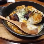 ぼんてん漁港 - 茄子ミートチーズ焼き