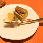 Mimasuyaokudohan - デザートの抹茶チーズケーキ