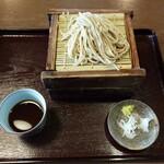 鈴耶 - 料理写真:ざるそば二段