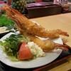 ひろけん - 料理写真:大きなエビフライです