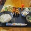 焼鳥 とりよし - 料理写真:焼き鳥定食!副総菜が盛沢山!