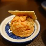 サーモンベーネ 鮭寮 - いつもの鮭明太子ポテサラ